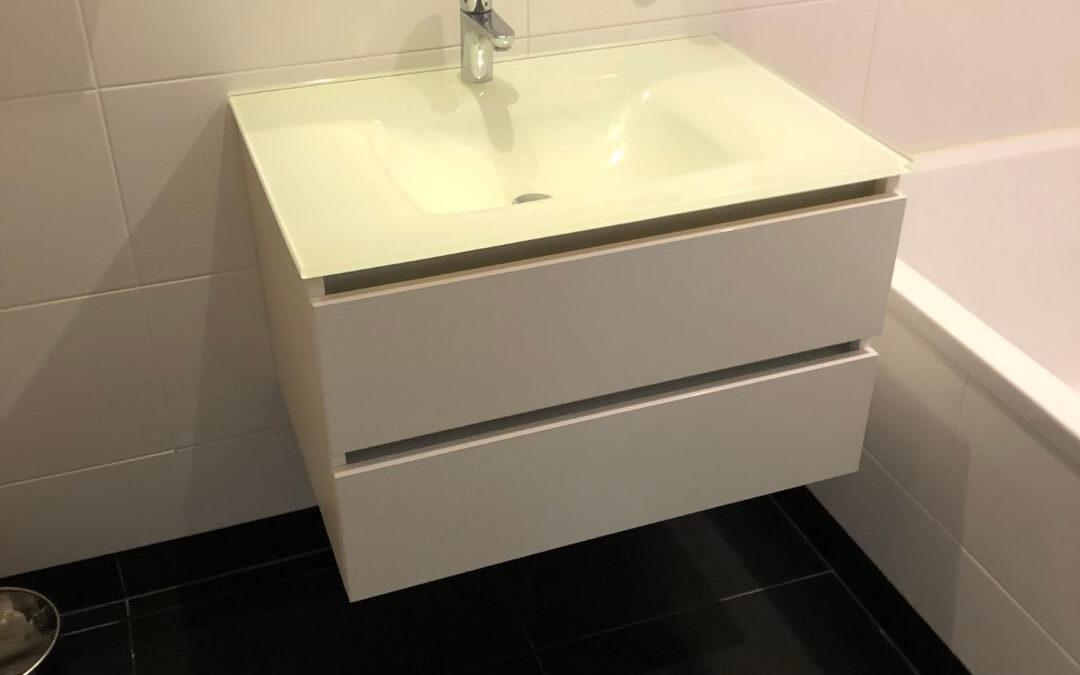Fabrication et pose de meuble salle de bain à Strasbourg