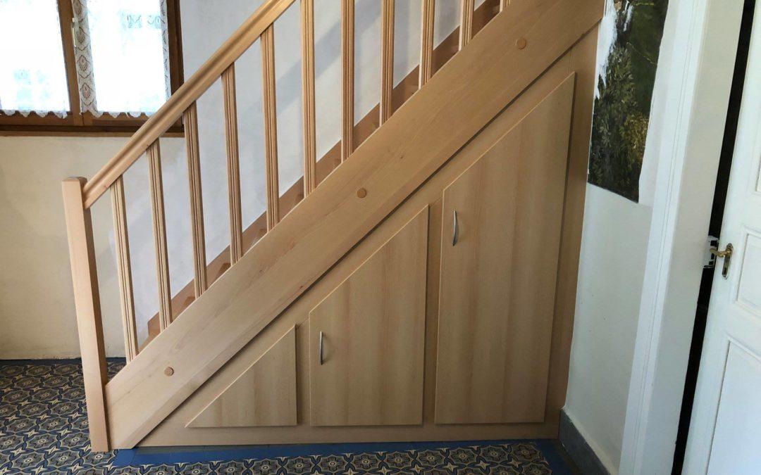 Faites réaliser votre escalier bois sur-mesure à Strasbourg par  Inove Sens !